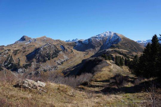 Randonnée Col de Bassachaux - Tête de Lindarets