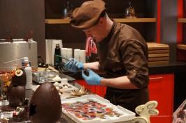 Visite de la Chocolaterie Cailler