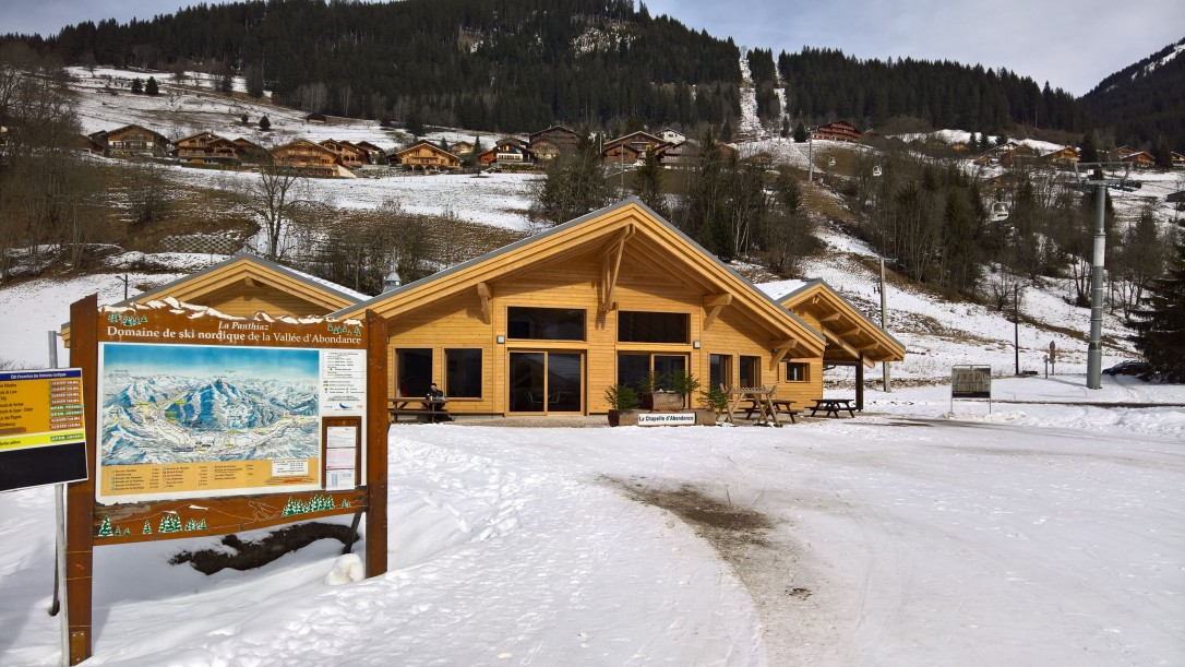 Le foyer de ski de fond