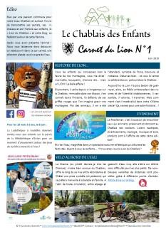 Carnet du Lion #1 - juin 2019 - Web